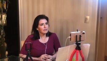 Simone critica Bolsonaro e o atraso das vacinas, mas arremata: 'não há chances de impeachment'