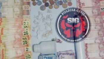 Mulher de 50 anos é presa por comandar ponto de tráfico em Ribas do Rio Pardo