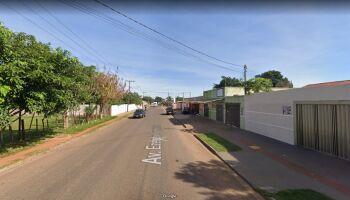 Motorista atropela pedinte no Guanandi II