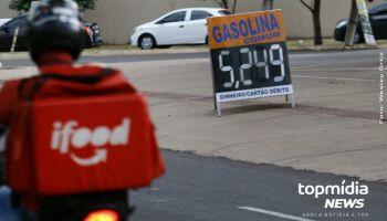 #TBT: gasolina a R$ 4,39 era o caro da semana passada e hoje está em R$ 5,24