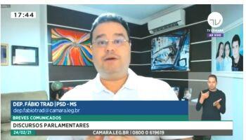 Fabio Trad critica PEC que restringe prisão de deputados