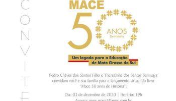 Professores lançam livro em homenagem aos 50 anos de existência da Mace
