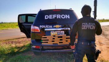 Traficante é baleado em troca de tiros com policiais da Defron