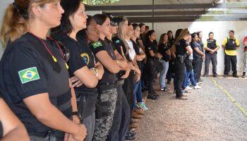 Mulheres ocupam menos de 30% das forças policiais em MS