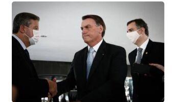 Bolsonaro se reúne com ministros, Lira e Pacheco para falar sobre vacinas, auxílio e PEC Emergencial