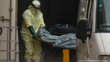 Brasil tem recorde de mortos em 24 horas pela covid; 1.641 vidas