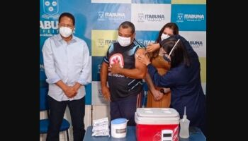 Socorrista pega covid-19 dias após tomar 2ª dose de vacina