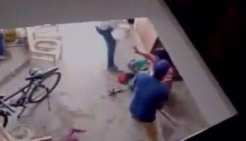 Homem chega na 'bicuda' e ameaça matar mulher dentro de casa no Jardim das Cerejeiras