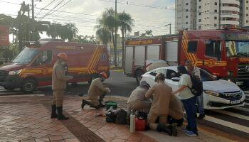 Vídeo mostra momento que carro acerta Jacqueline, que morreu em Campo Grande