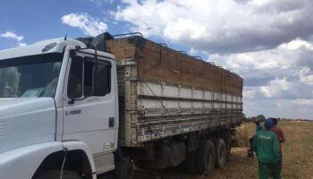Motorista de caminhão é rendido por bandido armado em posto de combustível