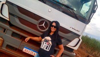 Elizângela faz história e se torna a 1ª mulher a ser motorista de usina em Fátima do Sul