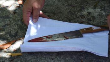 Assassino é encontrado com faca na mão em Nova Alvorada do Sul