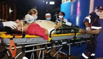 Vítima de tentativa de homicídio é socorrida em estado grave em Dourados