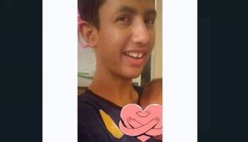 Viram o Gustavo? Adolescente autista desaparece no Santa Luzia