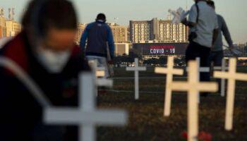 Brasil ultrapassa marca de 350 mil mortes por Covid-19