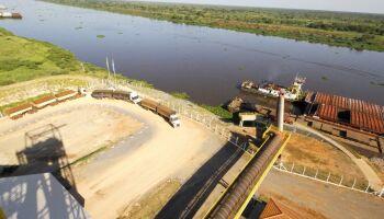 Porto Murtinho: contorno rodoviário garante agilidade na exportação recorde pela hidrovia