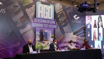 Prestação de contas da Cassems de 2020 é aprovada em Assembleia Geral Ordinária