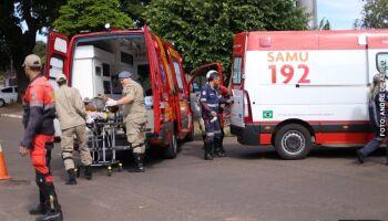Homem é esfaqueado e pede ajuda para Guarda Metropolitana na Dom Aquino