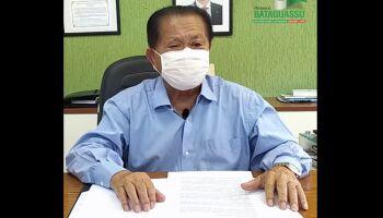 Prefeito de Bataguassu é acusado de nepotismo e má uso de verba da covid-19