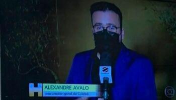 Na Globo: Jornal Hoje coloca procurador-geral de Campo Grande de Cuiabá
