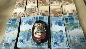 Em Corumbá, PF prende suspeito com R$ 212 mil em dinheiro