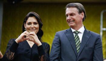 """Michelle defende Bolsonaro após acusações: """"Ele é um príncipe"""""""