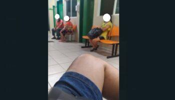 Pacientes com suspeita de covid denunciam dia de descaso na UPA Coronel Antonino