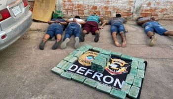 Quadrilha de traficantes é presa na fronteira de MS