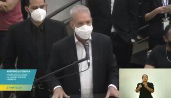 Geraldo Resende 'lavou a alma' na Câmara e recebeu de elogios a nota de repúdio