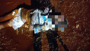 Vídeo: ladrão furta botijão de gás e apanha até não querer mais no Indubrasil