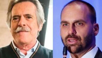José de Abreu sobre Eduardo Bolsonaro: 'Não sabia que coronavírus dava em porco'
