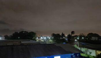 Tempestade deixou bairros sem energia durante a madrugada em Campo Grande