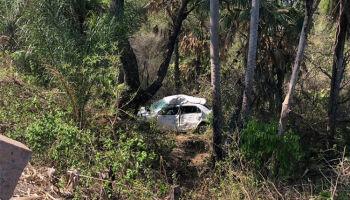 Motorista perde o controle do carro, cai em ribanceira e morre na BR-262