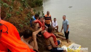 Corpo é encontrado após naufrágio de barco com turistas goianos no Rio Paraguai