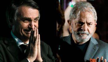 Lula segue líder e vence Bolsonaro no 1º e 2º turnos, diz PoderData