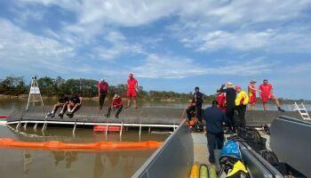 Embarcação que afundou no rio Paraguai não era de transporte turístico