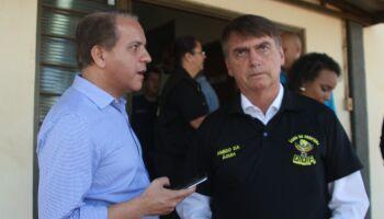 Bolsonaro lembra de apoio de Coronel David e elogia atuação do DOF em MS
