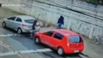 Policial pega marido PM com amante e atira contra ele em Guarulhos (veja vídeo)