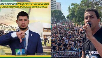 Tiago Vargas recebe enxurrada de críticas ao propor exame de drogas para professores