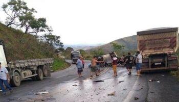 Motorista sul-mato-grossense é socorrido após grave acidente na Br-262, em MG