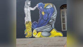 Jesus perdoa Thanos em igreja de Campo Grande