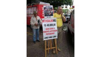 """Em MS, indígenas querem derrubar """"homem do megafone"""" da Funai"""