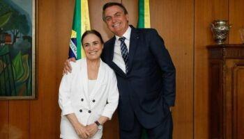 Governo marca posse de Regina Duarte para dia 4 de março