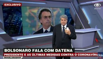 'Tá tudo certo entre nós. Parabéns ao ministro', diz Bolsonaro após reunião com Mandetta