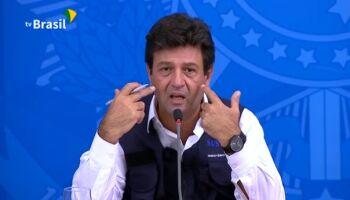 Na Lata: de técnico, ministro vira o 'pau Mandetta'