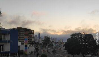 Sábado será de céu com nuvens e dia ensolarado na Capital