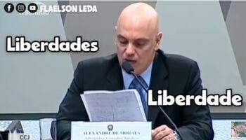 VÍDEO: Bolsonaro provoca e posta gravação com 'contradições' de Alexandre de Moraes