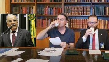 """""""Melhor tomar leite, que tomar pinga"""", diz Ovando sobre nova polêmica com Bolsonaro"""