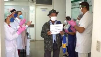 VÍDEO: idoso de 99 anos vence Covid-19 em Coxim