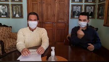 'Carros serão desinfetados em barreiras sanitárias de Campo Grande', diz prefeito